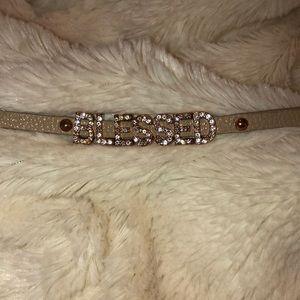 """""""BLESSED"""" adjustable bracelet"""